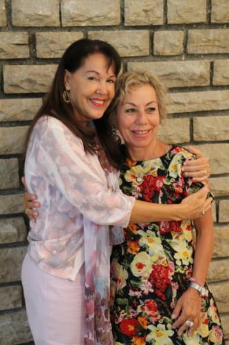 con Claudia Rainville
